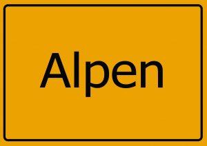 Inspektion Alpen