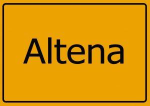Inspektion Altena